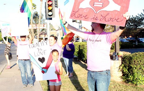 Marriage equality rally held in Bakersfield