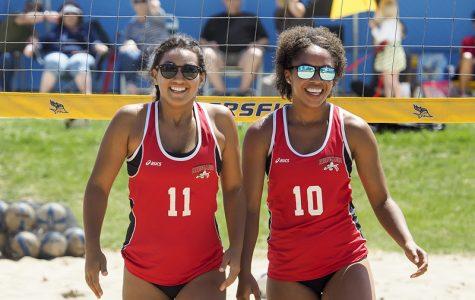 Beach volleyball has its season debut