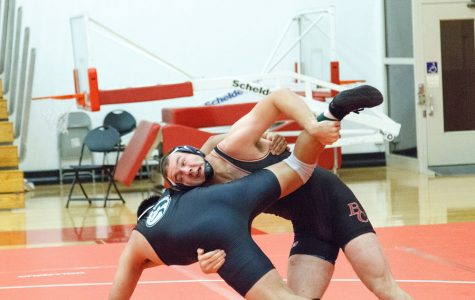 BC wrestling finishes first at conference tournament