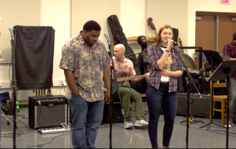BC students came to jam out at open rehearsal