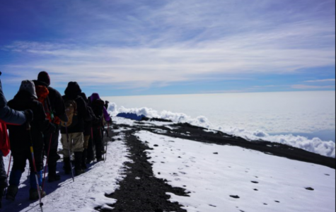 BC professor spends vacation on Kilimanjaro