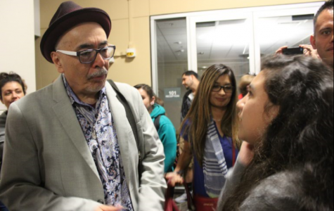 Latino poet performs work for BC