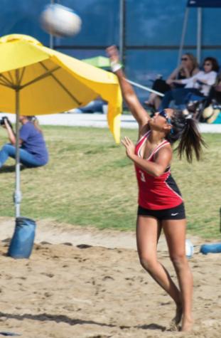 Beach volleyball has triumphant return