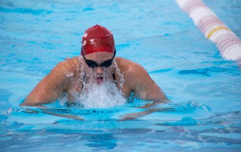 Quan making a splash in  women's swim program