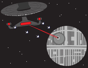 Pick a side: The Rebel Alliance or Starfleet?