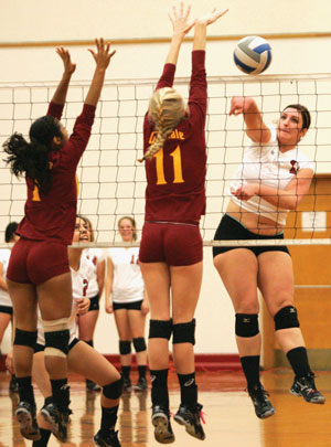 Volleyball team nets yet another win for BC