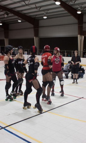 Local roller derby bouts