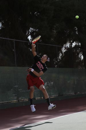 Struggles continue for BC tennis
