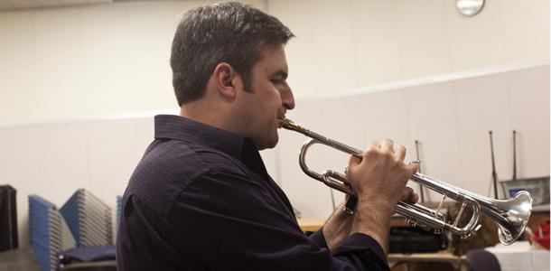Tiner's musical talents exist beyond BC campus