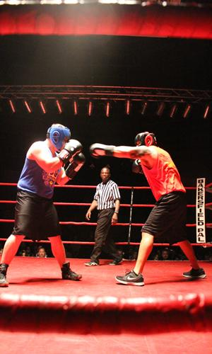 Local heroes meet in the ring
