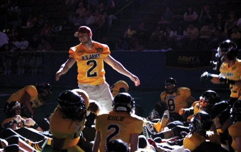 Future Renegades play at the U.S. Army Arena Bowl