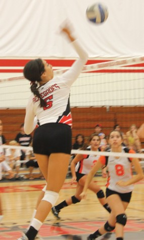 Volleyball sweeps first home catch