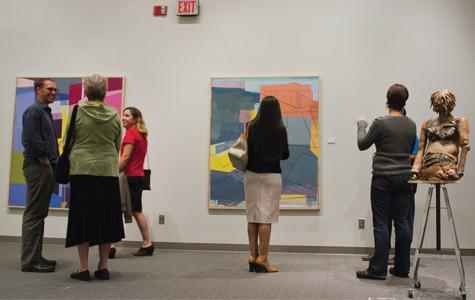 Gallery displays instructors work