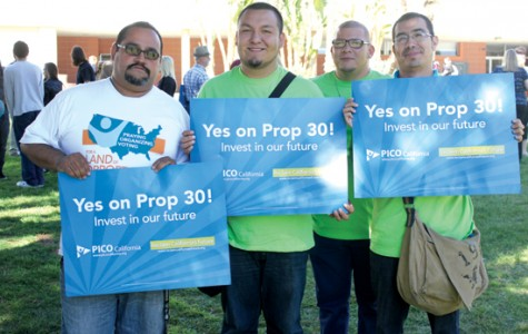 Rally held to inform students on Prop. 30