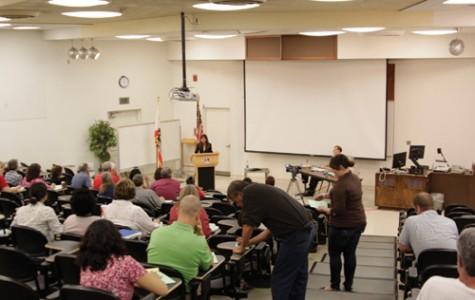 Presidential candidates visit campus