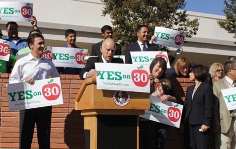 Jerry Brown visits BC, encourages a 'yes' vote on Prop. 30