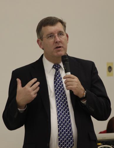 College president finalist Kevin Trutna