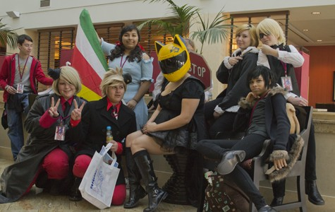 Cosplayers gather at Bak-Anime