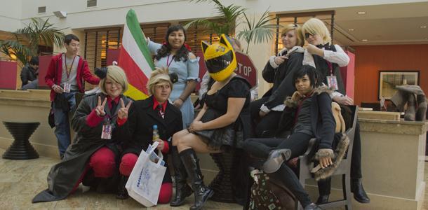 Cosplayers+gather+at+Bak-Anime