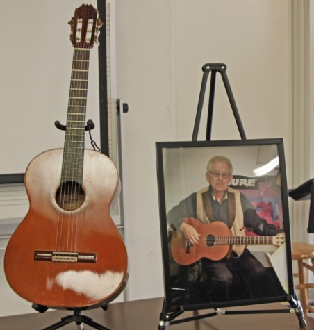 BC honors former guitar instructer
