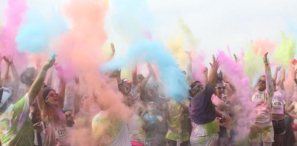 Color run for charity