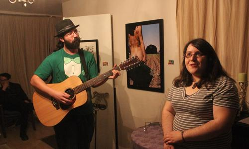 Home opened for creative expression