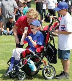 League of Dreams gives disabled kids a chance