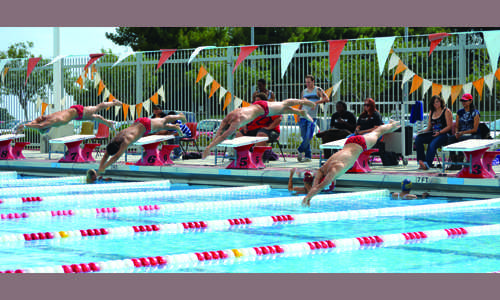 BC swim teams head to Western State Conference