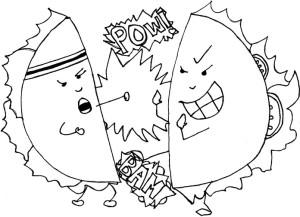 taco throwdown online- BAR