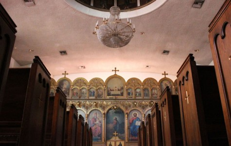 Bakersfield's Greek Orthodox church has lots of BC connections