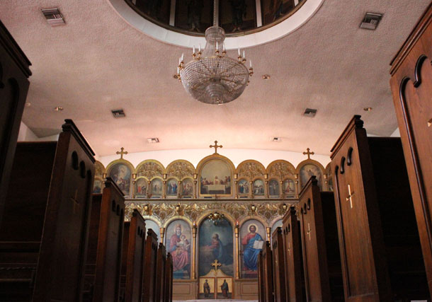 Bakersfields Greek Orthodox church has lots of BC connections