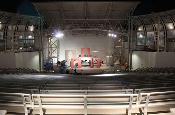 New theater opens with Shakespeare plays