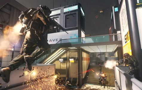 New Call of Duty: Advanced Warefare will get you flying
