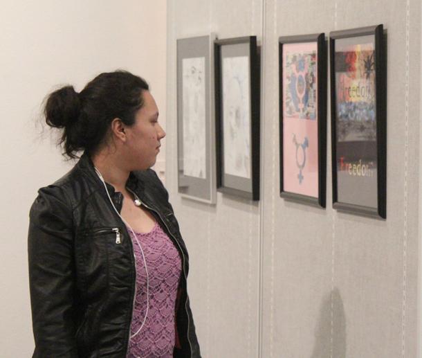 Art gallery hosts local event