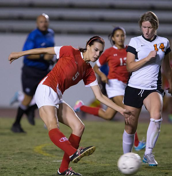 Sabrina Spink and the BC women's soccer team, currently ranked 4th in the conference, will face the three-seed Citrus Owls tonight in a pivotal conference showdown at Memorial Stadium (kickoff at 7 p.m.).