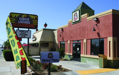 Mexican grill located near BC