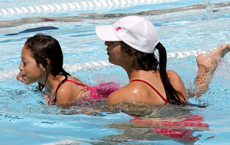 Swim Lessons at BC's aquatic center were a success for all ages