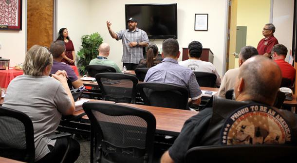 Vet center welcomes community