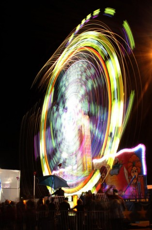 The Kern County Fair lights up Bakersfield