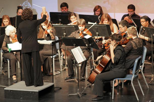 The Bakersfield College Orchestra performs Peer-Gynt, one of Henrick Isen's greatest works, in the BC SPArC Indoor Theater on Oct. 13. The performance was for elementary school children.