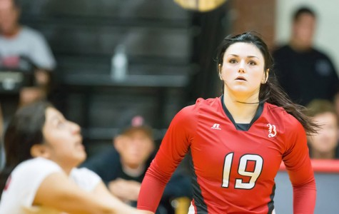 Heathcott brought the heat for volleyball