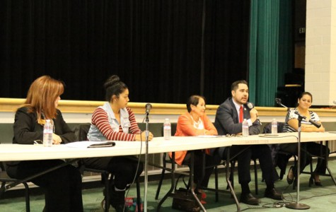 Panelist speak on promoting change in the Delano community