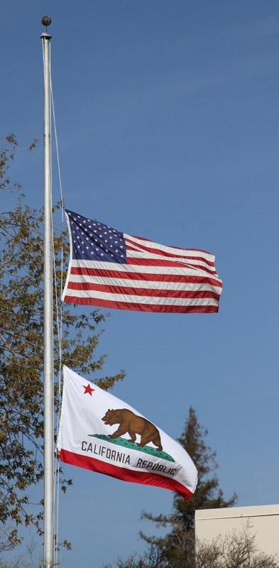The+flag+is+being+flown+at+half-staff+in+honor+and+memory+of+25-year-old+BC+student+and+U.S.+Army+veteran+Timothy+L.+Legget+Jr.+