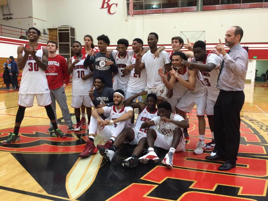 Renegades clinch outright conference title with 82-57 win over Wildcats