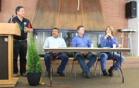 Speakers dig up tree information