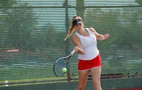 Tennis finds a hot streak