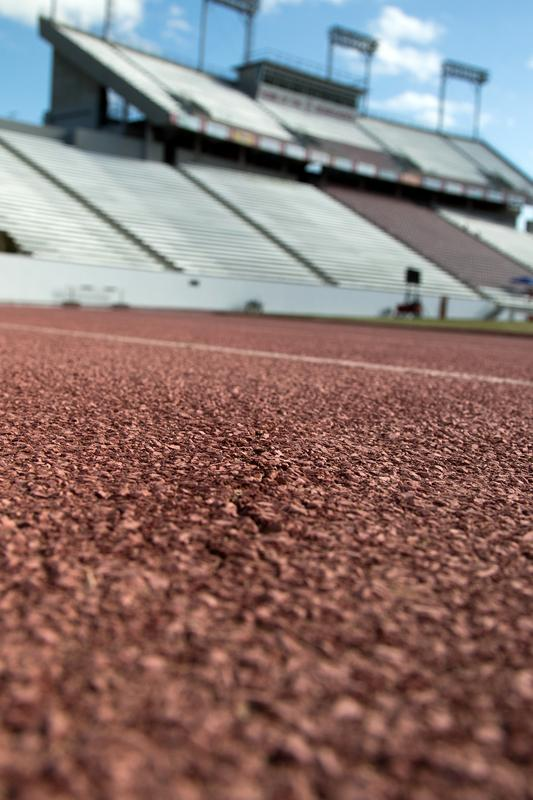 Memorial Stadium track to be resurfaced