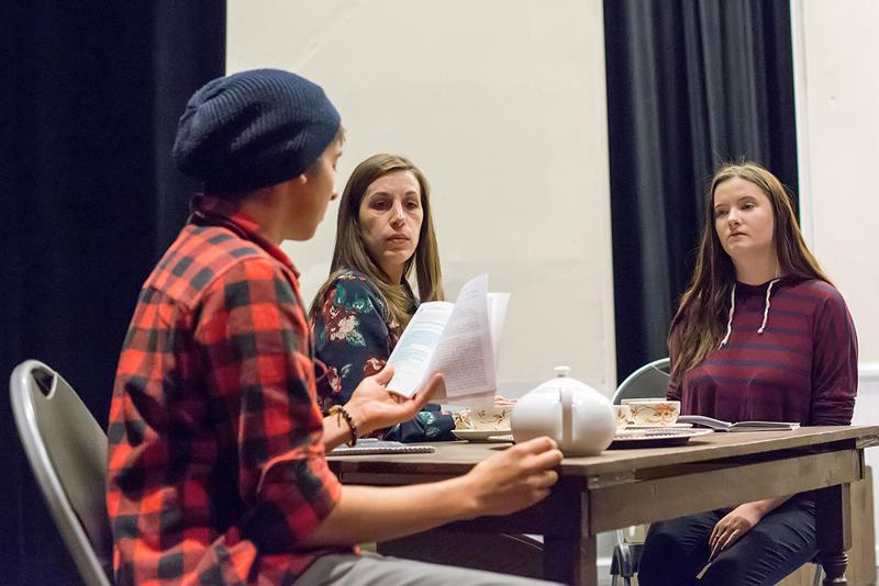 Play takes students back in time