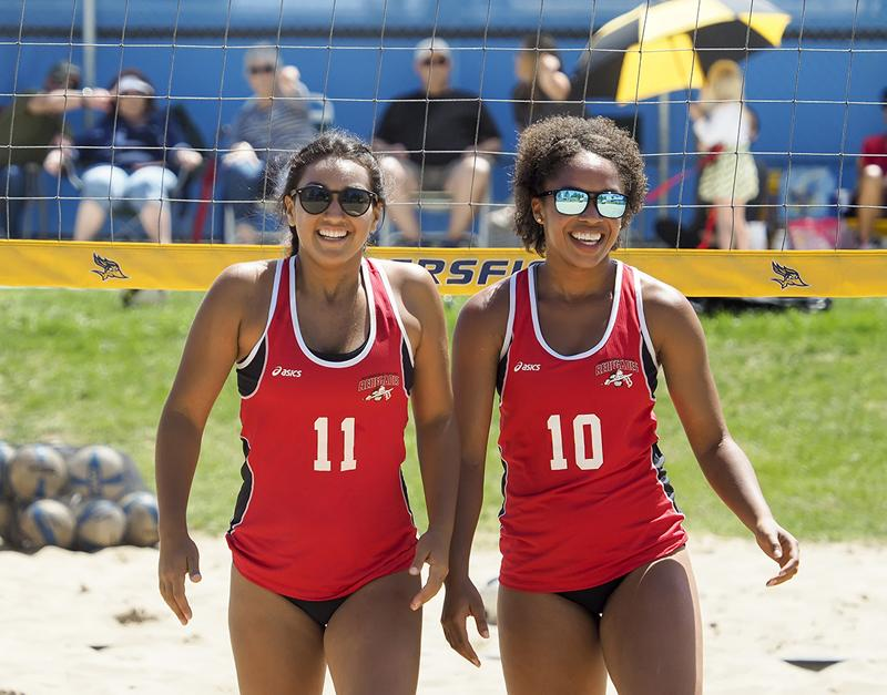 Beach volleyball has its season debut