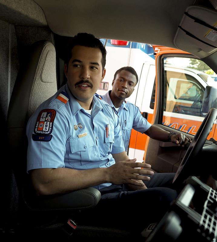 Hall Ambulance, BC work hand in hand